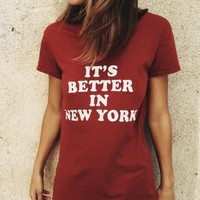 MARGIE BETTER IN NY TOP