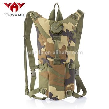 Yakeda Military Hydration Pack tactical hydration Bladder Backpack Water soluble Bag Hiking Camel Bag