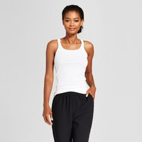 Women's Ribbed Any Day Tank - A New Day™ Black L