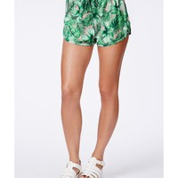 Missguided - Charmine Tropical Print Shorts