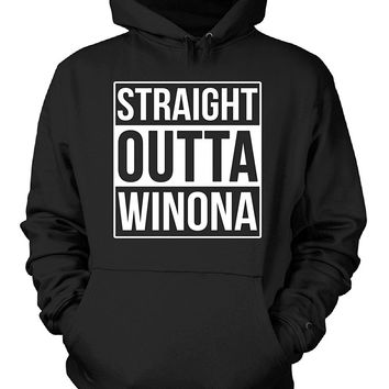 Straight Outta Winona County. Cool Gift - Hoodie