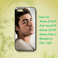 Zac Efron - iPhone 5 Case - iPhone 4 Case- ipod 4 case - ipod 5 case- Samsung Galaxy S4- Samsung Galaxy S3 -Samsung note 2