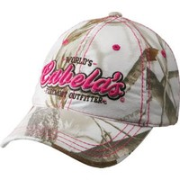 Cabela's: Cabela's Women's Foremost Outfitter Camo Cap