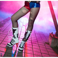 Harley Quinn Suicide Squad Shorts Cosplay Costume