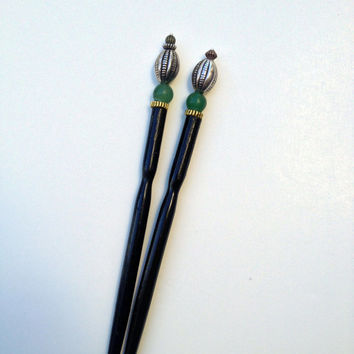 Hair sticks for sale - hair stick styles - oriental hair sticks - asian hair sticks - wooden hair sticks for all occasions