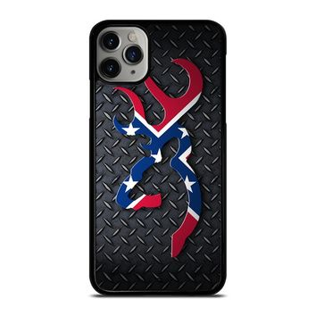 BROWNING REBEL FLAG METAL iPhone Case Cover