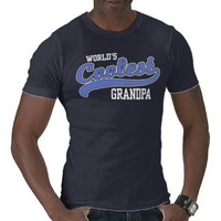 World's Coolest Grandpa T-shirt from Zazzle.com