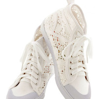 ModCloth Urban Crochet the Word Sneaker