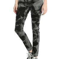 Blackheart Black & Grey Wash Skinny Jeans