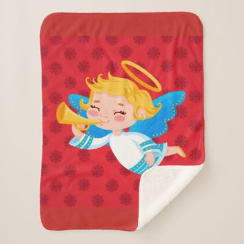 Angel Sherpa Blanket