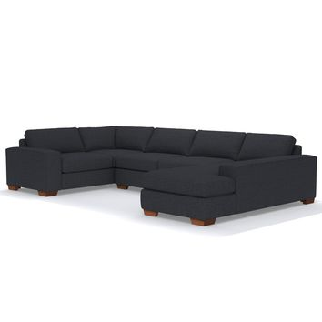 Melrose 3pc Sleeper Sectional