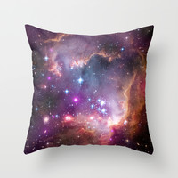 Small Magellanic Cloud Throw Pillow by SuzanneCarter | Society6