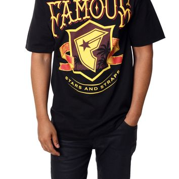Famous Stars and Straps Men's Coastin Short Sleeve Graphic T-Shirt