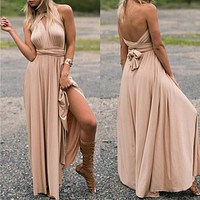 Sexy Long Dress  Formal Multi Way Wrap Convertible