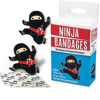 Ninjas Don't Cry Boo-Boo Bandages