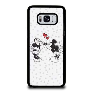 MICKEY AND MINIE MOUSE KISSING Disney Samsung Galaxy S3 S4 S5 S6 S7 Edge S8 Plus, Note 3 4 5 8 Case Cover