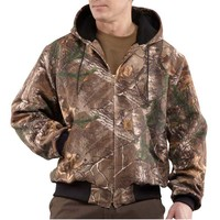 Carhartt Men's Camo Thermal Lined Active Jac Jacket - J220