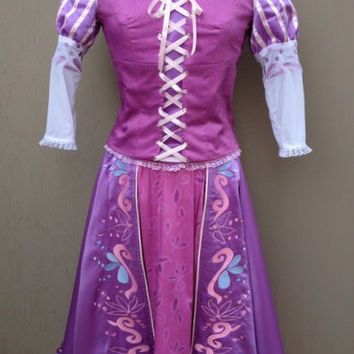 Rapunzel Tangled Version B Adult Custom Costume in by Bbeauty79