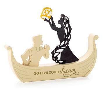 Tangled Rapunzel Word Silhouette