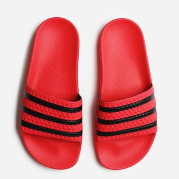 Adidas Originals Adilette CQ3098 | Real Coral | Footwear - Naked