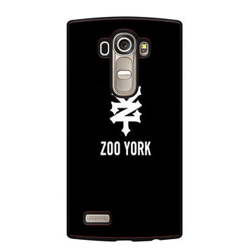 zoo york black logo LG G4 Case