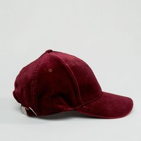 New Look Velvet Cap at asos.com