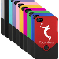 iPhone 4/4s Case/Cover Volleyball, Volleyball Man,  Ball  Laser Engraved