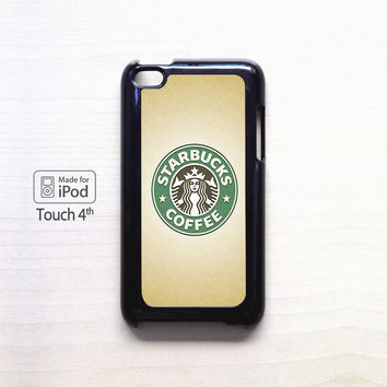 Starbucks Logo Coffee for Ipod 4/Ipod 5 apple case