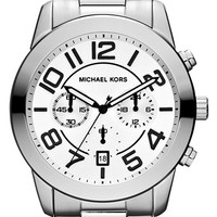 Michael Kors 'Mercer' Large Chronograph Bracelet Watch, 45mm