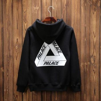 Palace Long Sleeved Hooded Sweater