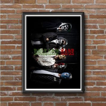 Hollywood Undead (group masks jackets)  Photo Poster 16x20 18x613