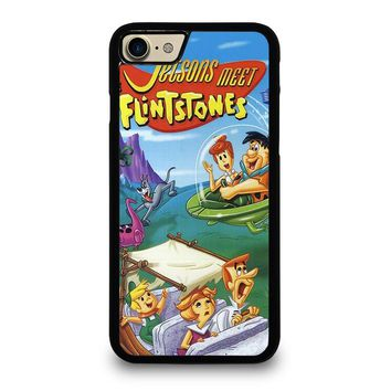 JETSONS MEET FLINTSTONES Case for iPhone iPod Samsung Galaxy