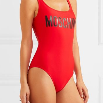 Moschino Swimsuit One-piece Bathing Suit