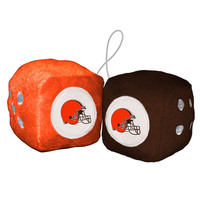 Cleveland Browns Fuzzy Dice