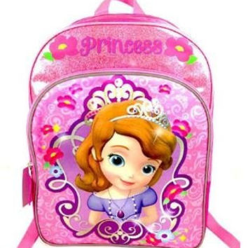 Sofia The First Pink Sparkle Backpack