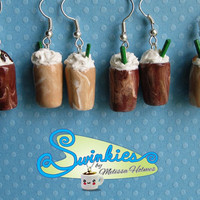 Coffee Drink Earrings