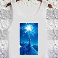 Disney Frozen Elsa 3 - Tank Top for man, woman S / M / L / XL / 2XL / 3XL *02*