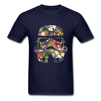 Star Wars Tropical Camo Stormtrooper Printed T-Shirt | Star Wears Center