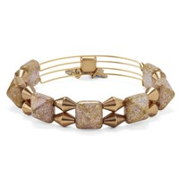 Sandstone Impulse Beaded Bangle
