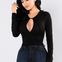 Wicked Games Top - Black