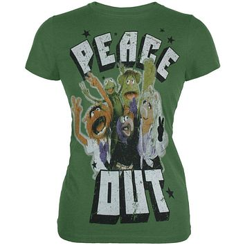 The Muppets - Peace Out Juniors T-Shirt