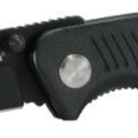 Smith & Wesson CH0014 Black Clip Point Blade and Black Aluminum Insertable Handle with pocket clip