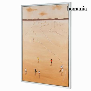 Beach oil painting by Homania