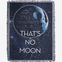 Star Wars Death Star Throw Blanket