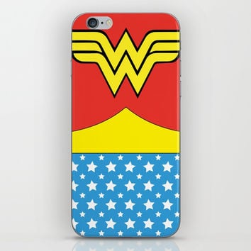 Wonderwoman iPhone Skin by vanessavolk