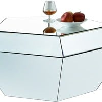 Ruby Mirrored Coffee Table