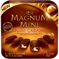 Walmart: Magnum Mini Double Caramel Ice Cream Bars, 1.85 fl oz, 6 count