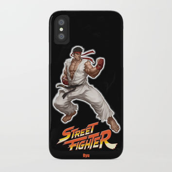 Street Fighter Ryu iPhone Case by Dexter Gornez