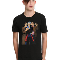 Doctor Who: Four Doctors #1 Variant Cover T-Shirt