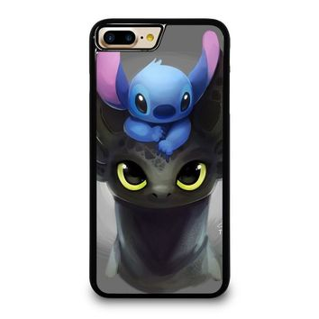 TOOTHLESS AND STITCH iPhone 4/4S 5/5S/SE 5C 6/6S 7 8 Plus X Case